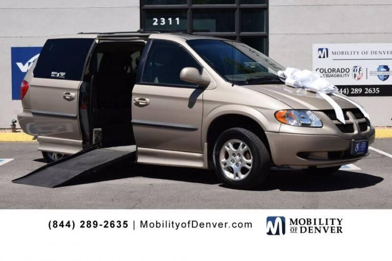 2002 Dodge Grand Caravan for sale at CO Fleet & Mobility in Denver CO