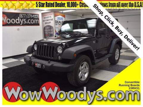2015 Jeep Wrangler for sale at WOODY'S AUTOMOTIVE GROUP in Chillicothe MO