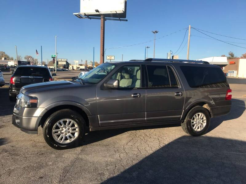 2012 Ford Expedition EL for sale at Superior Used Cars LLC in Claremore OK
