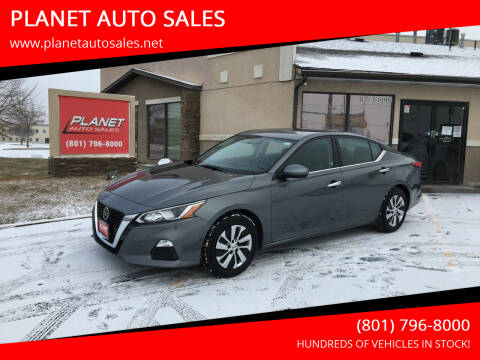 2019 Nissan Altima for sale at PLANET AUTO SALES in Lindon UT