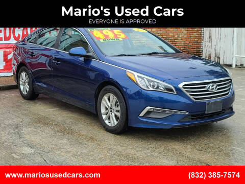 2015 Hyundai Sonata for sale at Mario's Used Cars - South Houston Location in South Houston TX