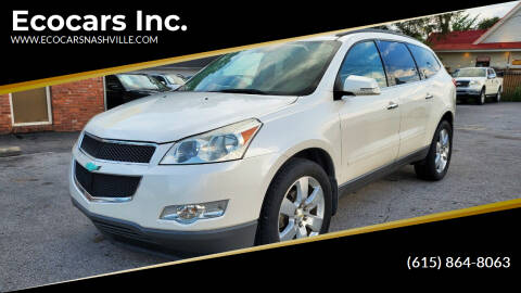 2011 Chevrolet Traverse for sale at Ecocars Inc. in Nashville TN