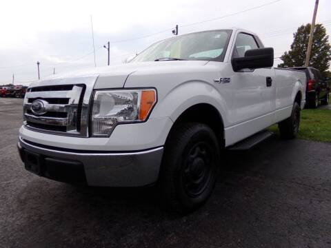 2011 Ford F-150 for sale at Pool Auto Sales Inc in Spencerport NY