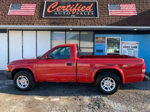 2003 Dodge Dakota for sale at Certified Auto Sales, Inc in Lorain OH