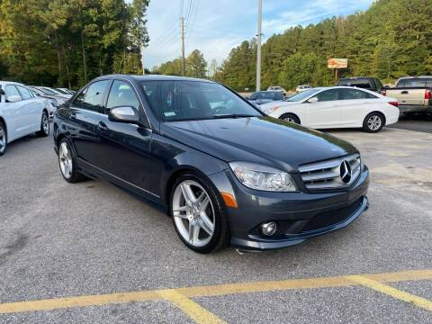 2008 Mercedes-Benz C-Class for sale at Galaxy Auto Sale in Fuquay Varina NC