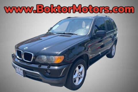 2001 BMW X5 for sale at Boktor Motors in North Hollywood CA