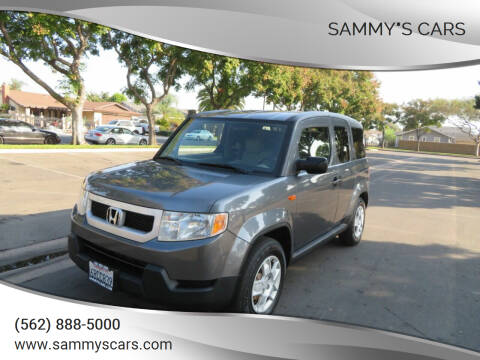 "2011 Honda Element for sale at SAMMY""S CARS in Bellflower CA"