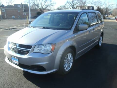 2016 Dodge Grand Caravan for sale at Siglers Auto Center in Skokie IL