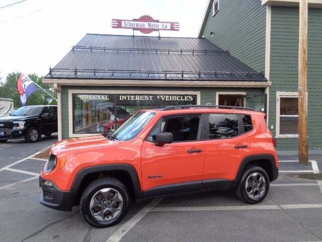 2016 Jeep Renegade for sale at SCHURMAN MOTOR COMPANY in Lancaster NH