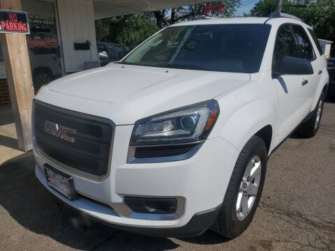 2016 GMC Acadia for sale at New Wheels in Glendale Heights IL