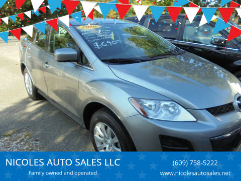 2010 Mazda CX-7 for sale at NICOLES AUTO SALES LLC in Cream Ridge NJ