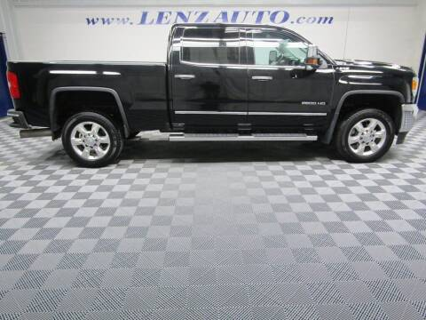 2019 GMC Sierra 2500HD for sale at LENZ TRUCK CENTER in Fond Du Lac WI
