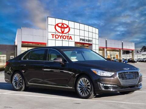 2019 Genesis G90 for sale at PHIL SMITH AUTOMOTIVE GROUP - Pinehurst Toyota Hyundai in Southern Pines NC