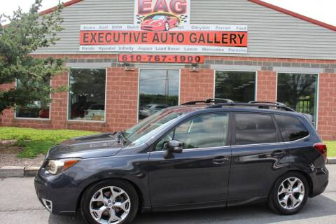 2014 Subaru Forester for sale at EXECUTIVE AUTO GALLERY INC in Walnutport PA
