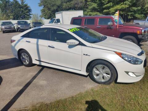 2015 Hyundai Sonata Hybrid for sale at SCENIC SALES LLC in Arena WI