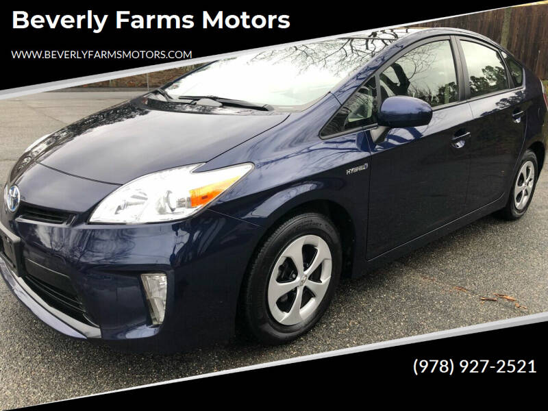 2014 Toyota Prius for sale at Beverly Farms Motors in Beverly MA