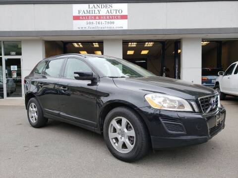 2013 Volvo XC60 for sale at Landes Family Auto Sales in Attleboro MA
