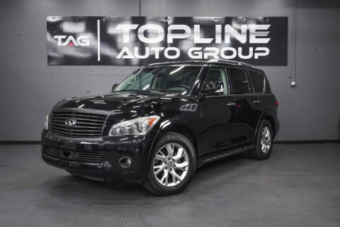 2011 Infiniti QX56 for sale at TOPLINE AUTO GROUP in Kent WA