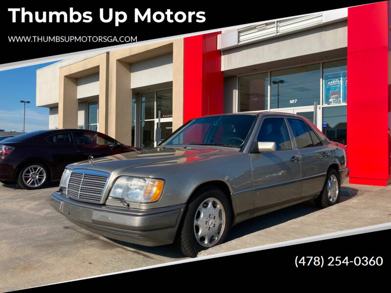 1995 Mercedes-Benz E-Class for sale at Thumbs Up Motors in Warner Robins GA