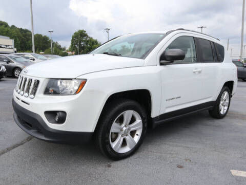 2016 Jeep Compass for sale at RUSTY WALLACE KIA OF KNOXVILLE in Knoxville TN