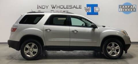 2012 GMC Acadia for sale at Indy Wholesale Direct in Carmel IN