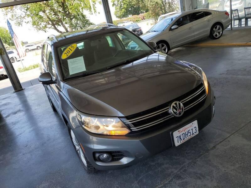 2015 Volkswagen Tiguan for sale at Sac River Auto in Davis CA