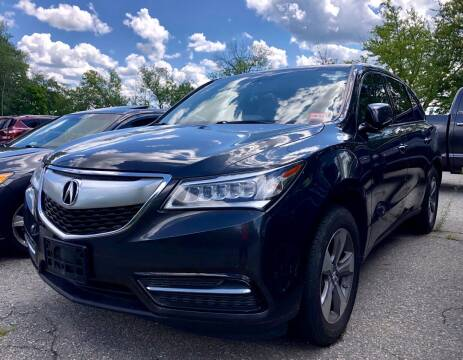 2016 Acura MDX for sale at Top Line Import of Methuen in Methuen MA