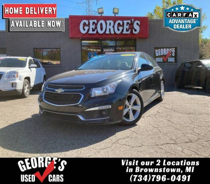 2015 Chevrolet Cruze for sale at George's Used Cars - Telegraph in Brownstown MI