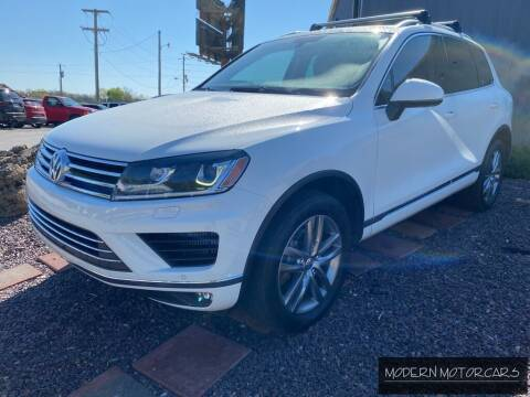 2015 Volkswagen Touareg for sale at Modern Motorcars in Nixa MO