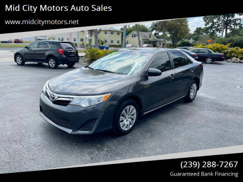 2014 Toyota Camry for sale at Mid City Motors Auto Sales in Fort Myers FL