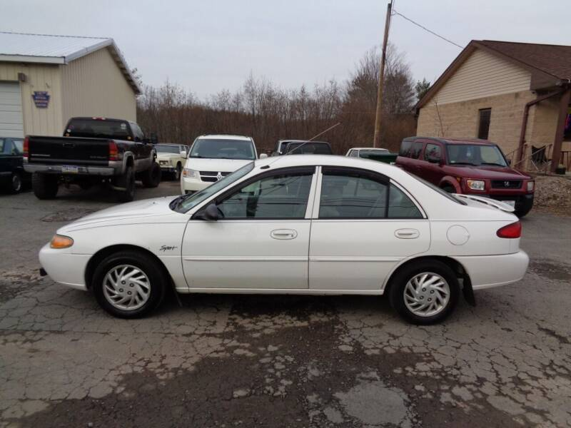 1998 Ford Escort for sale at On The Road Again Auto Sales in Lake Ariel PA