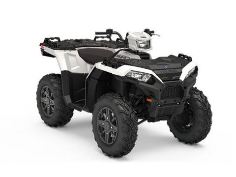2019 Polaris Sportsman® 850 SP White L for sale at Head Motor Company - Head Indian Motorcycle in Columbia MO