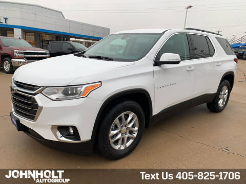 2021 Chevrolet Traverse for sale at JOHN HOLT AUTO GROUP, INC. in Chickasha OK