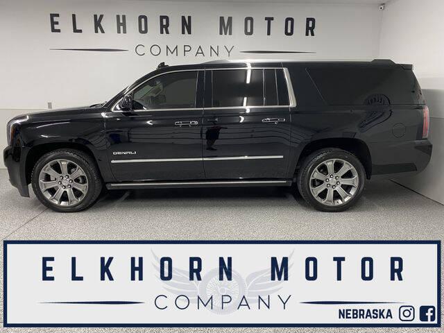 2017 GMC Yukon XL for sale at Elkhorn Motor Company in Waterloo NE