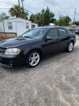 2013 Dodge Avenger for sale at Lucky Motors in Panama City FL