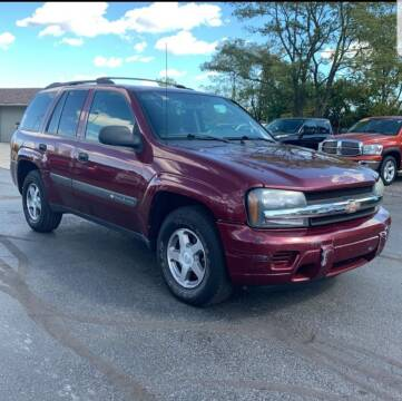 2004 Chevrolet TrailBlazer for sale at Five Star Auto Center in Detroit MI