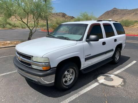 2003 Chevrolet Tahoe for sale at Premier Motors AZ in Phoenix AZ