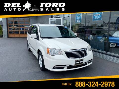 2013 Chrysler Town and Country for sale at DEL TORO AUTO SALES in Auburn WA