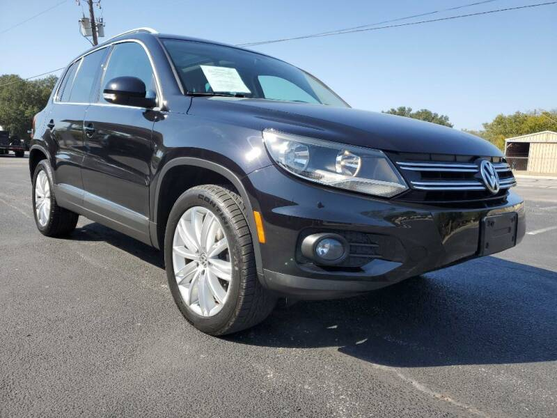 2014 Volkswagen Tiguan for sale at Thornhill Motor Company in Lake Worth TX
