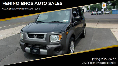 2003 Honda Element for sale at FERINO BROS AUTO SALES in Wrightstown PA
