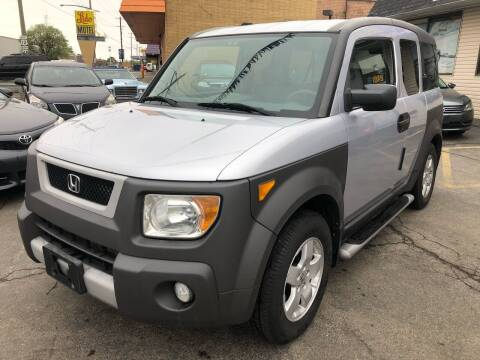 2004 Honda Element for sale at TOP YIN MOTORS in Mount Prospect IL