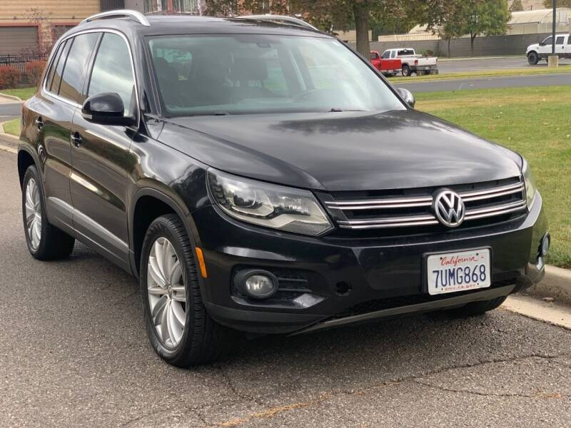 2016 Volkswagen Tiguan for sale at A.I. Monroe Auto Sales in Bountiful UT