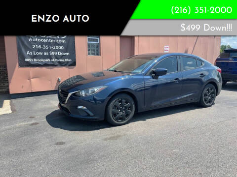 2015 Mazda MAZDA3 for sale at ENZO AUTO in Parma OH