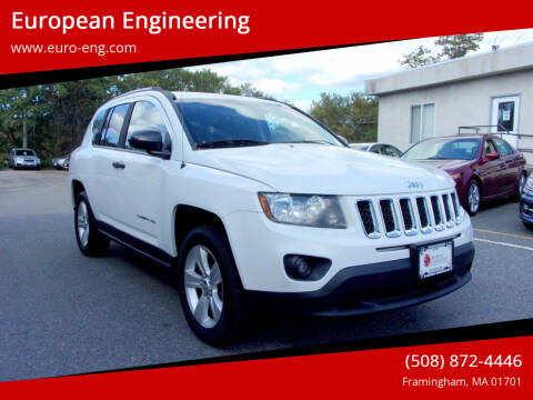 2015 Jeep Compass for sale at European Engineering in Framingham MA
