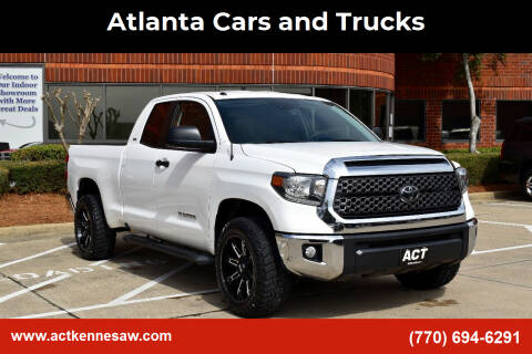 2018 Toyota Tundra for sale at Atlanta Cars and Trucks in Kennesaw GA