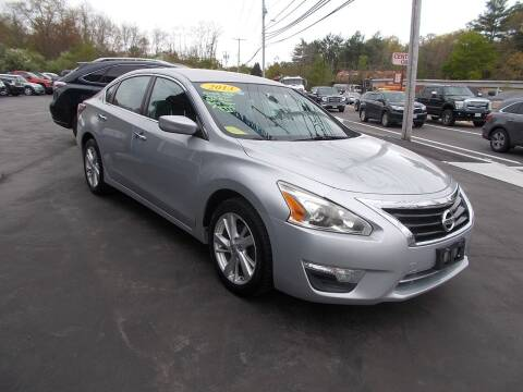 2013 Nissan Altima for sale at MATTESON MOTORS in Raynham MA