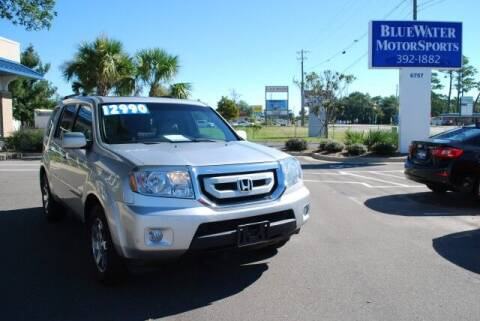 2011 Honda Pilot for sale at BlueWater MotorSports in Wilmington NC