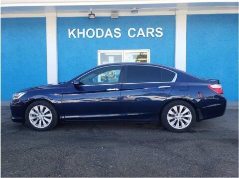 2015 Honda Accord for sale at Khodas Cars in Gilroy CA