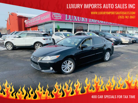2014 Lexus ES 350 for sale at LUXURY IMPORTS AUTO SALES INC in North Branch MN