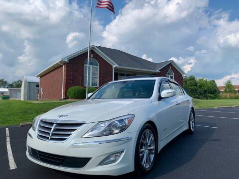 2012 Hyundai Genesis for sale at HillView Motors in Shepherdsville KY